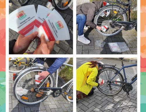 Neue Fahrradwerbung für die Seniorenresidenz Haus Bavaria