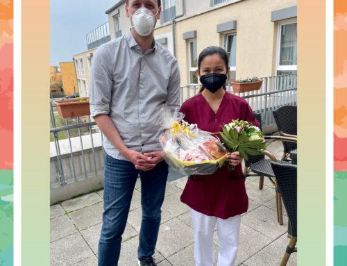 Große Freude in der Seniorenresidenz Biesdorfer Höhe