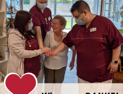 Internationaler Tag der Pflege 2021 in den Fürsorge im Alter Seniorenresidenzen