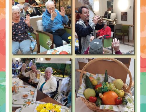 Erntedank mit Herbstfest in der Fürsorge im Alter Seniorenresidenz Haus Pankow in Berlin